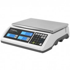 Obchodní váha CAS ER PLUS s váživosti až 30 kg