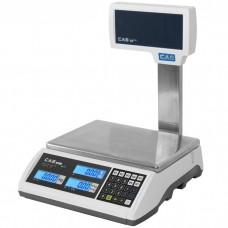 Obchodní váha CAS ER PLUS s nožkou a váživosti až 30 kg