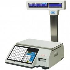 Váha etiketovací CAS CL5500 s nožkou a váživosti až 15 kg