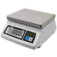 Kuchyňská váha CAS SW 1 s  váživosti až 20 Kg