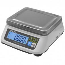 Kuchyňská váha CAS SW2 s váživosti až 30 kg bez výpočtu ceny