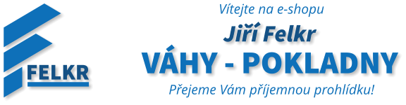 Jiří Felkr váhy - EET pokladny